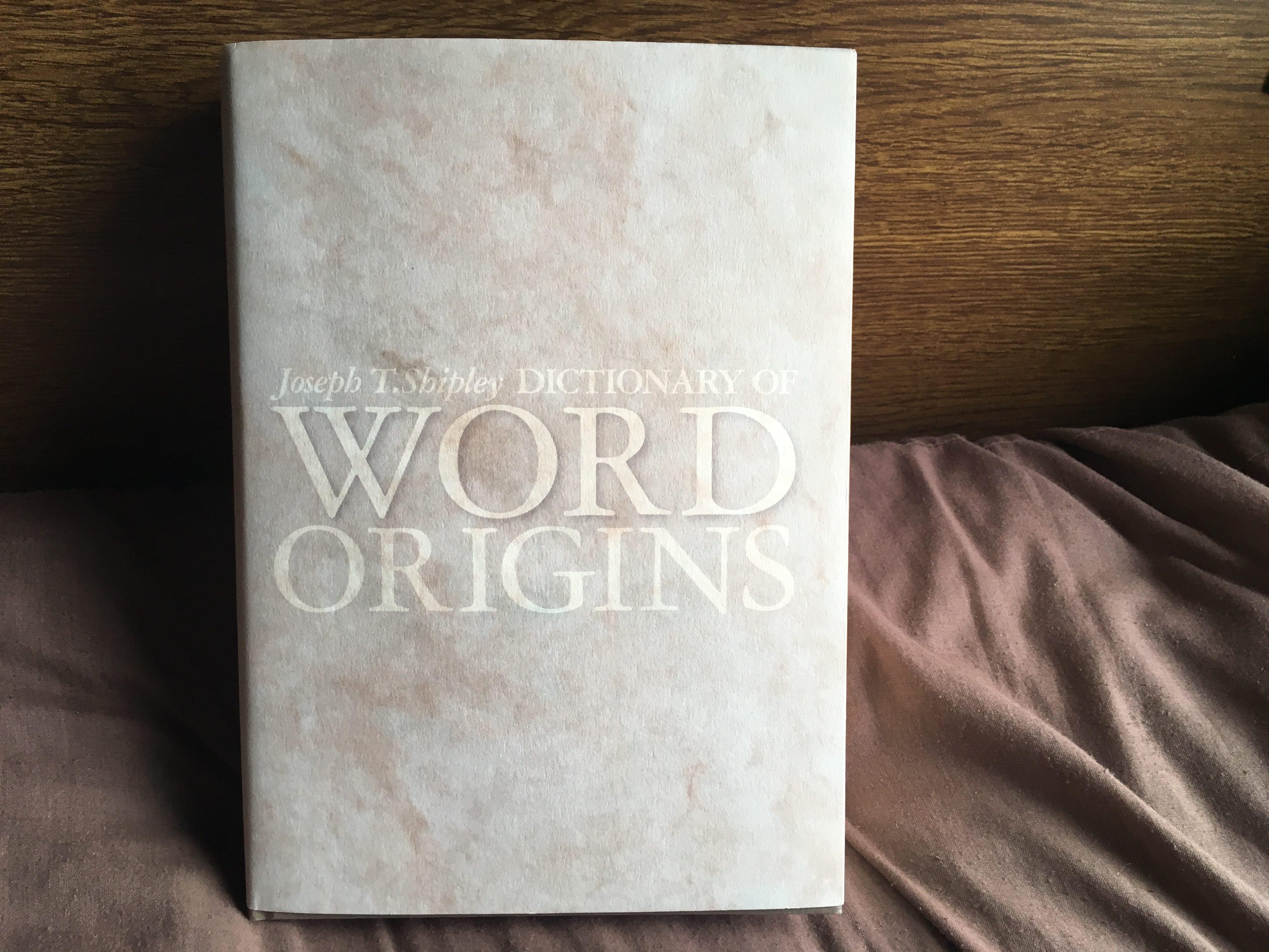 【哲学者オススメ】英語の語源を知りたいなら、この本がベスト!